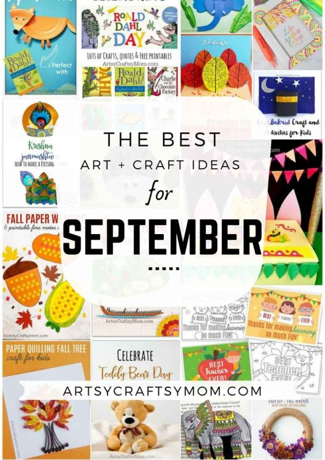 Art and Craft Activities for the month of September