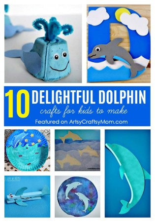 10 Delightful Dolphin Crafts for Kids