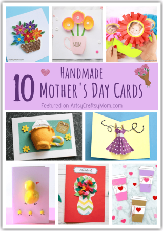 10 Adorable Handmade Mother's Day Cards