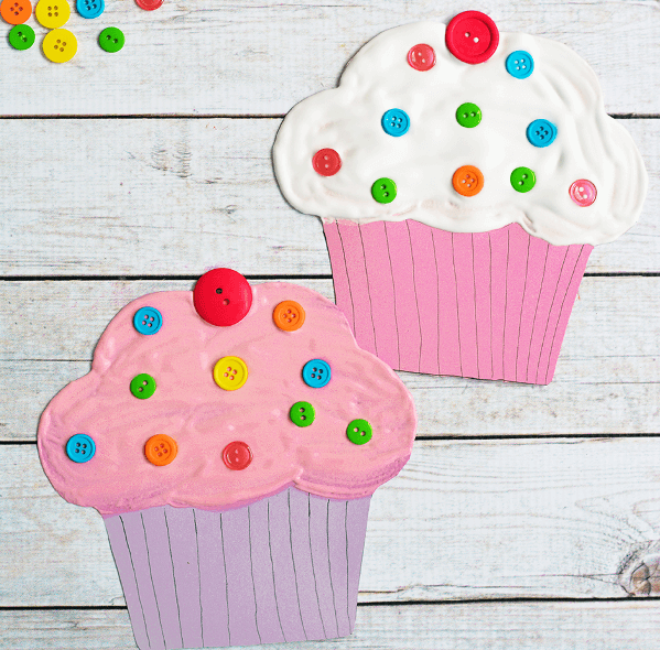 Get ready to celebrate Cupcake Day with these super cute Cupcake Crafts for Kids! Bring out the craft paper, pom poms and doilies, and get crafting!