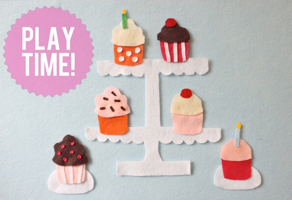 They'll love to get creative by making flowers out of everything from pasta to paper to paint. 10 Cute Cupcake Crafts For Kids Cupcake Day Crafts