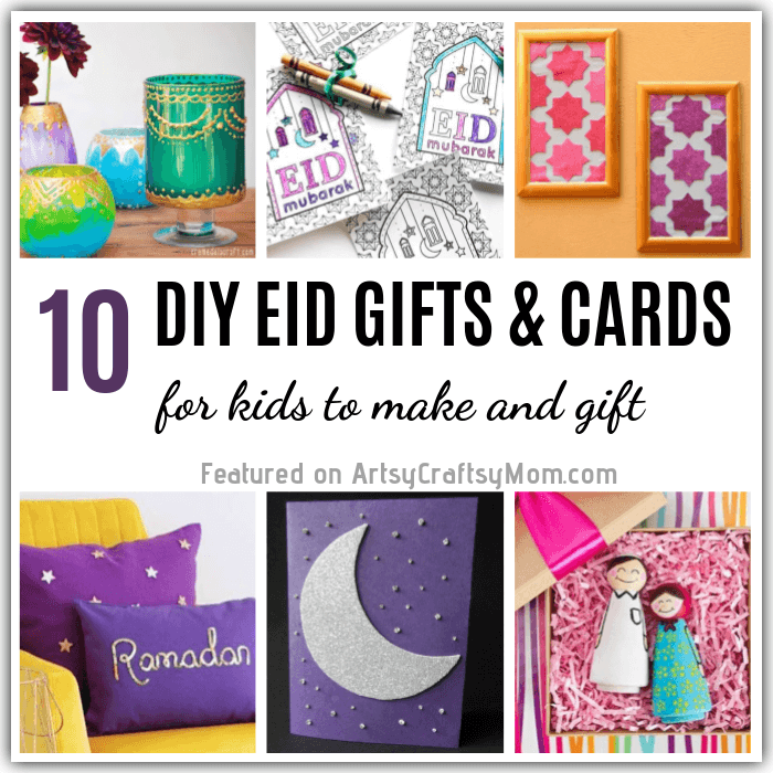 Home Design Gift Ideas: 10 DIY Eid Gifts And Cards For Kids To Make