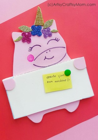 DIY Foam Unicorn Pin Board + Free Template