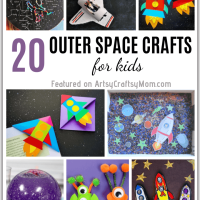 20 Outer Space Crafts for Kids to Make and Learn