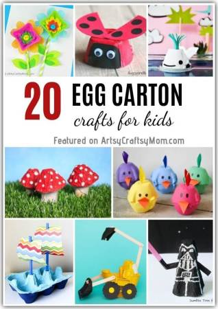 Recycle your empty egg cartons to make one of these 20 Recycled Egg Carton Crafts for Kids that's perfect for quarantine.