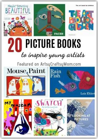 20 Picture Books to Inspire Young Artists