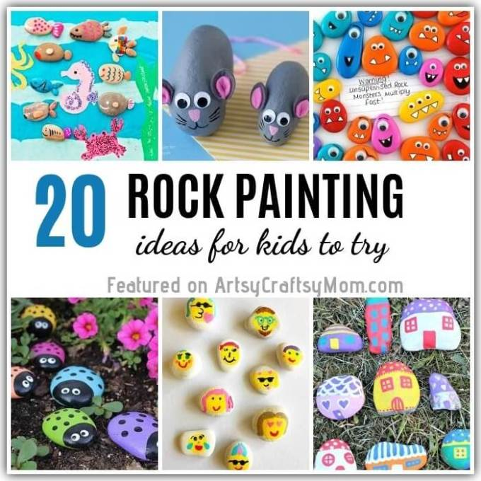 Turn rocks into anything your heart fancies, with these awesome rock painting ideas for kids! From minions to mummies to mice, make whatever you like!