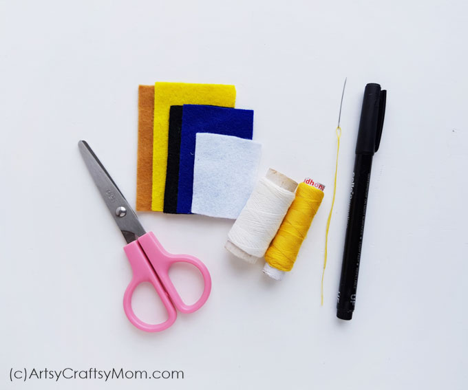 Use this DIY Felt Minion Pencil Topper to add some brightness to your everyday school work! Now you're all ready to dance to the 'Happy' song!