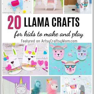 Llamas are all the rage now and no wonder; they're so cute! Get in with the trend & celebrate llamas this Alpaca Day with some Lovely Llama Crafts for Kids!
