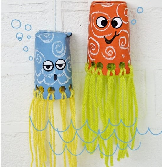 Octopuses are awesome, aren't they? Learn all about these creatures with our easy and fun octopus crafts for kids! Perfect for kids of all ages!