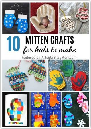 Mittens keep those little hands warm, but they also make great craft ideas! Check out these magical mitten crafts for kids to stay busy this season!