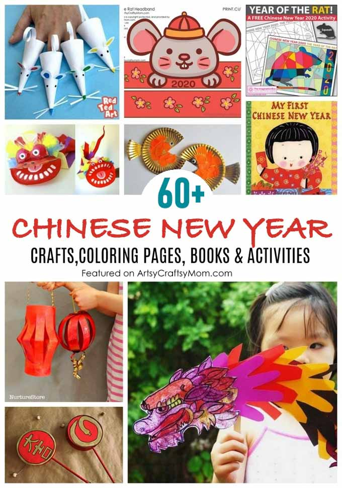 The Best 60 Chinese New Year Crafts And Activities For Kids Artsy Craftsy Mom