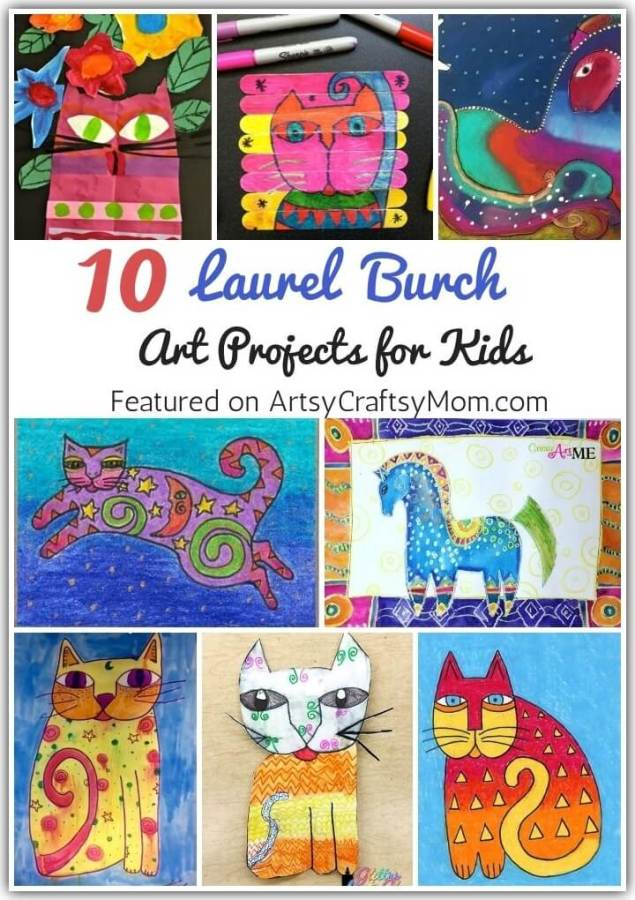 Laurel Burch was an artist who fought through adversities & ended up shining through art.Learn more about her with these Laurel Burch Art Projects for Kids.