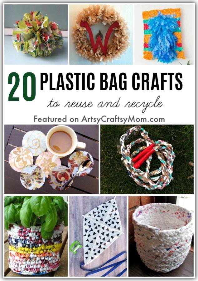 It's Plastic Free July, and we know you've got some plastic bags lying around. Get creative with these amazing ways to reuse plastic bags in your home.