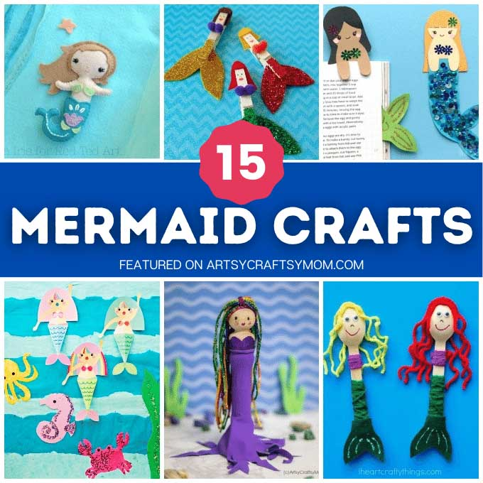 Then these mesmerizing mermaid crafts for kids are just what you need? Take an underwater adventure with these fun projects!