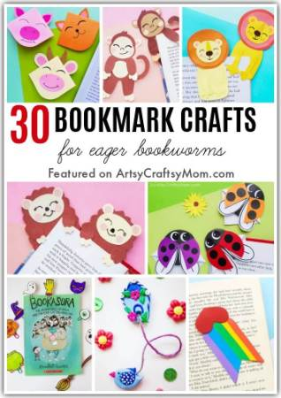 You won't lose your place in your favorite book anymore! Make one or more of these Awesome Bookmark Crafts for eager Bookworms like yourself!