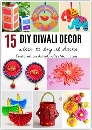 Deck up your home this festive season with these Easy DIY Diwali Decor Ideas. Get the whole family involved for a fun celebration!