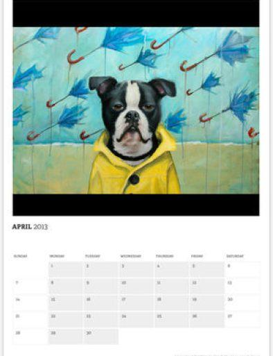 Faithful, A Calendar of Paintings by Clair Hartmann