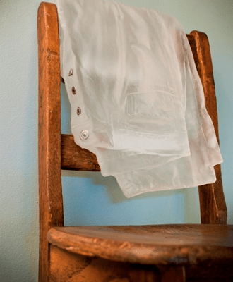 With His Wife Now Gone, His Clothes Never Seemed to Make it Back in the Drawer by Cassandra Straubing