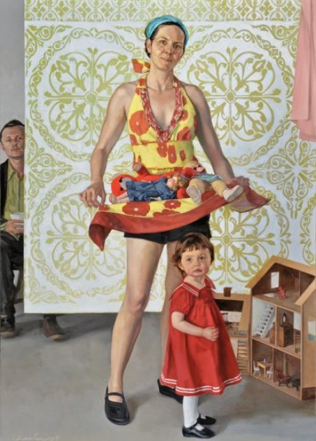 Portrait as St. Caslide by Haley Hasler