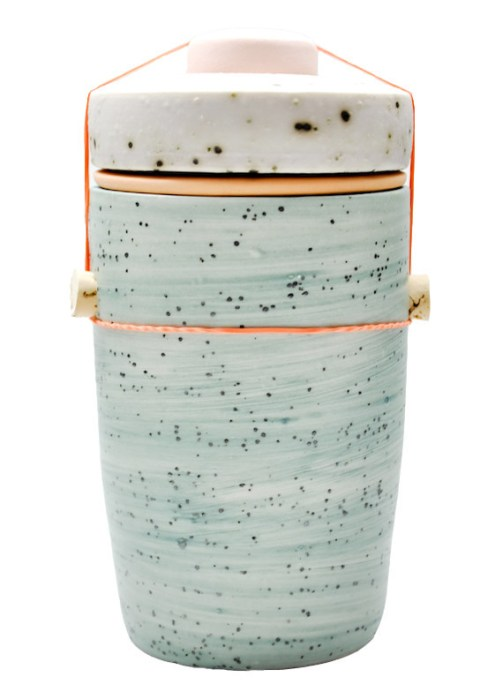 Large Jar in Summer Moss by Ben Fiess