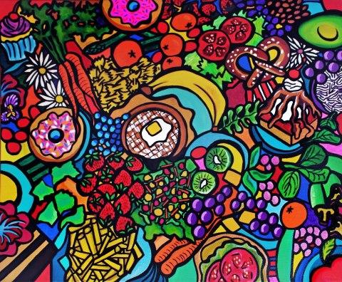 Vegan Smorgasboard by Ally Burguieres