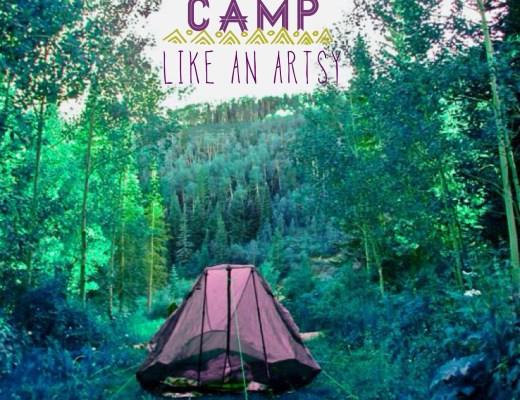 Camp Like an Artsy