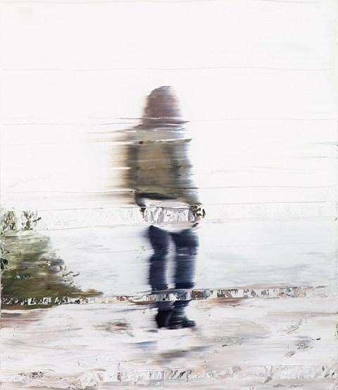 Denzler_Across the Shallow Stream_oil on canvas_140x120cm