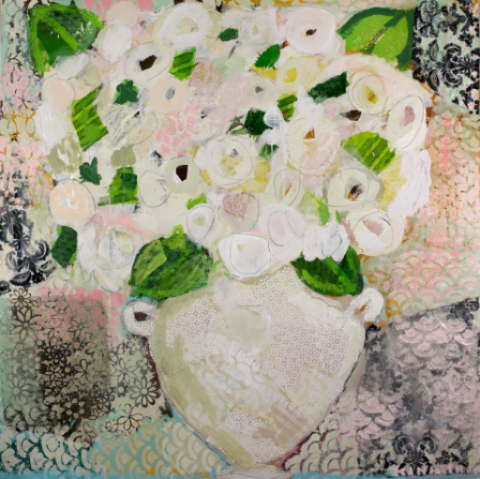 Love for Hydrangeas by Christy Kinard
