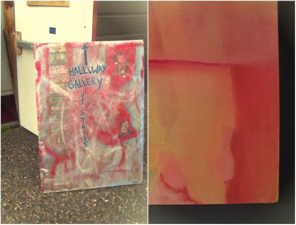 Hallway gallery collage