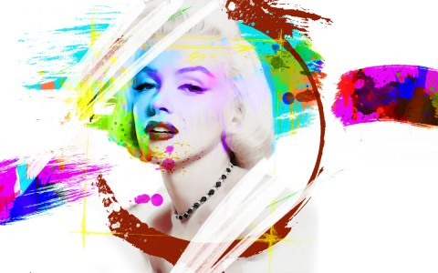 We-could-be-heroes-just-for-ine-day-42x60cm-Marylin