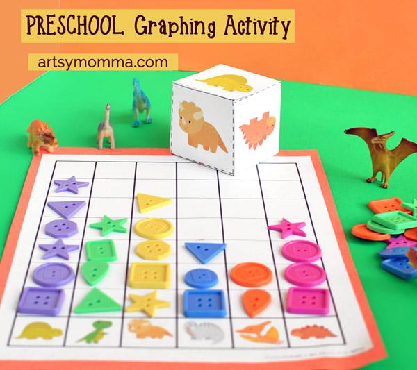 fun dinosaur graphing activity