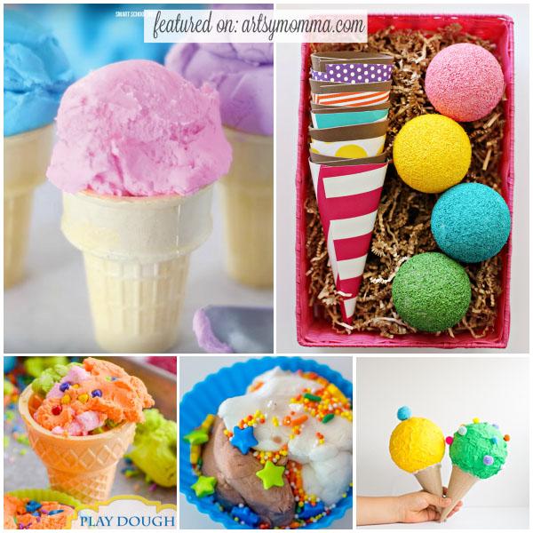 ice cream crafts and
