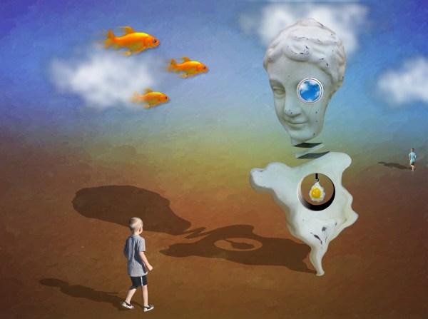Digital Art by the artist Wayman Stairs Surrealism