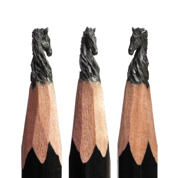 Salavat Fidal - Pencil Tip Carving Micro Sculptures