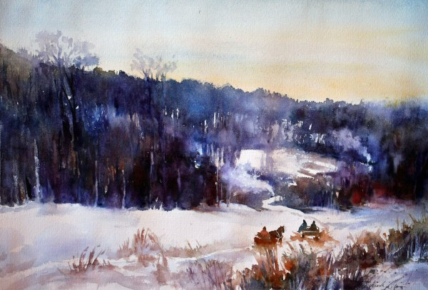 Sketchbook Lilla Schuch - Watercolor Artist Hungary Painting Artsy Nature