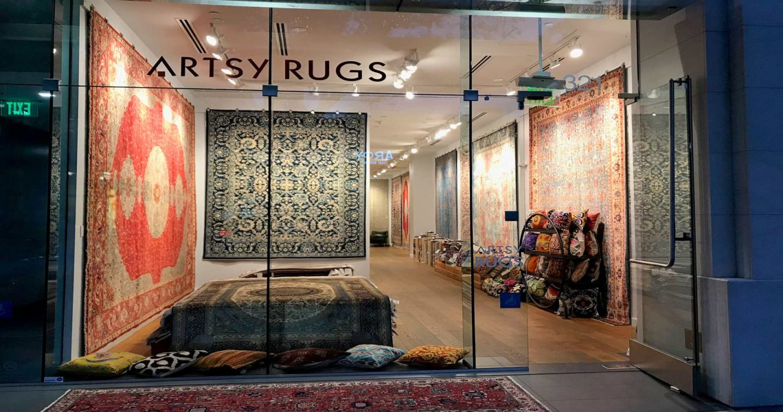 Distinguished New Rug Store in Palo Alto