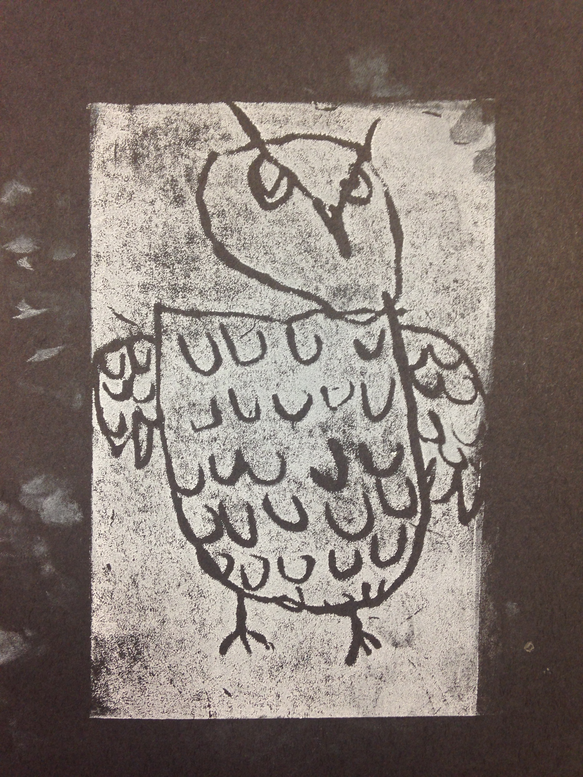 1st Grade Nocturnal Animal Prints Smart With Art