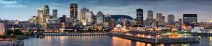 Panoramic View Of Montreal