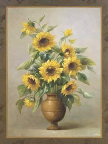Sunflowers In Bronze I