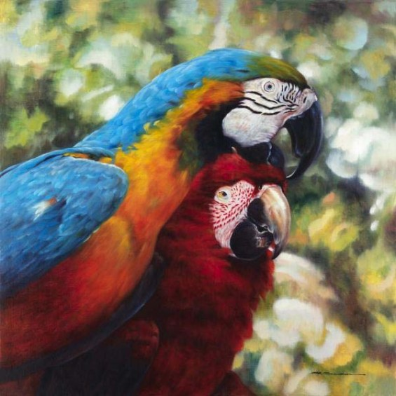 Colorful Pair (Giclee)