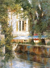 Awnings by the Canal