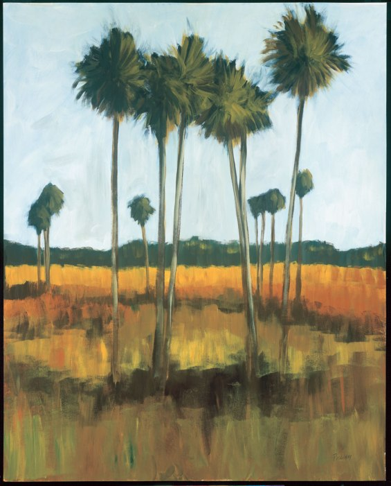 Tall Palms II