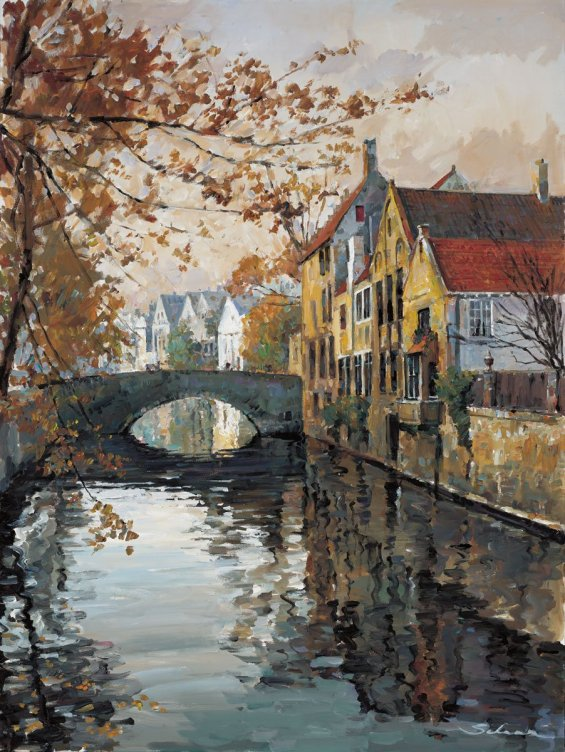 Brugge Reflections