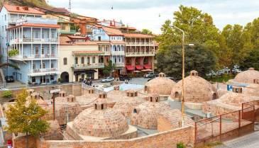 Серные бани в районе Абанотубани, Тбилиси | Art Travel Blog