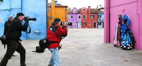 Shooting on Burano