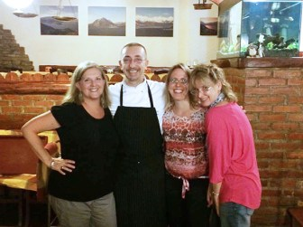 Cooking class with the chef