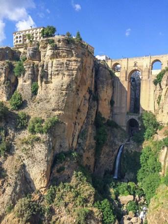Waterfall in Ronda