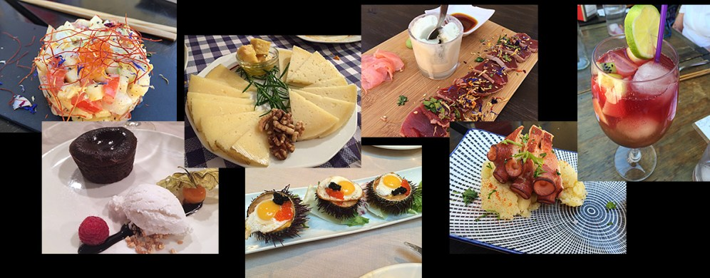 Some of the amazing food