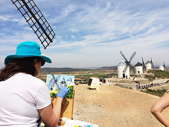 Capturing the windmills